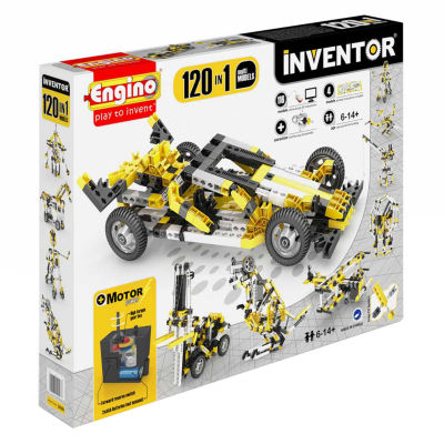 Engino Inventor 120 In 1 Models Building MotorizedSet - Multi Models
