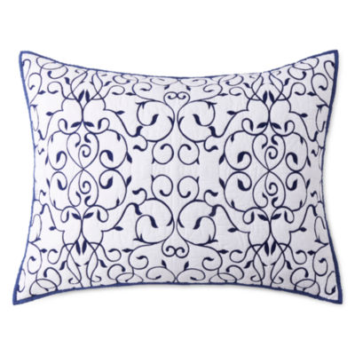 JCPenney Home Vienna Embellished Pillow Sham