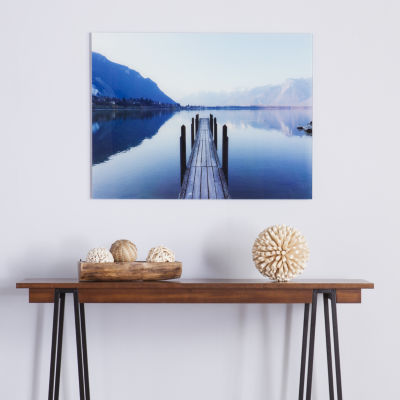 Home Decor Collections The Dock Glass Wall Art