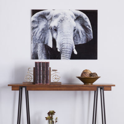 Home Décor Collections The Elephant Glass Wall Art
