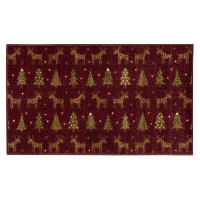 Brumlow Reindeer Printed Rectangular Rugs