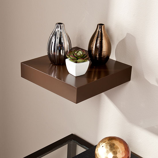 """JCPenney Home™ Idlewild 10""""X 10"""" Floating Shelf"""
