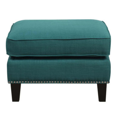 Picket House Furnishings Emery Ottoman