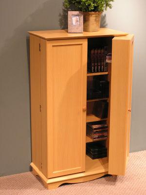 4D Concepts Multimedia Storage Bookcase