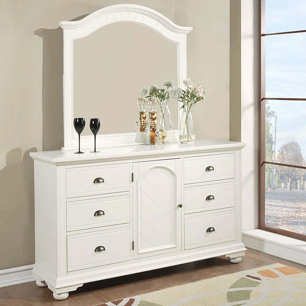 Picket House Furnishings Addison Dresser & Mirror Set