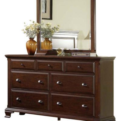 Picket House Furnishings Brinley Dresser & Mirror Set
