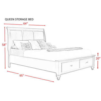 Picket House Furnishings Channing Storage Bed