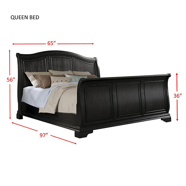 Picket House Furnishings Conley Sleigh Bed