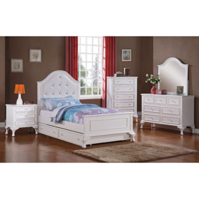 Picket House Furnishings Jenna Panel Bed with Trundle