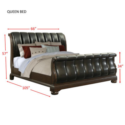 Picket House Furnishings Pentos Sleigh Bed
