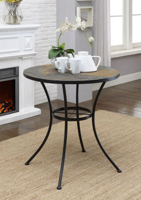 4D Concepts Round Table with Slate Top