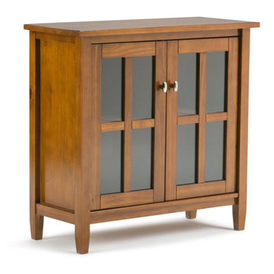 Warm Shaker Low Storage Cabinet