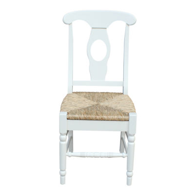 Empire Rush Seat 2-pc. Side Chair