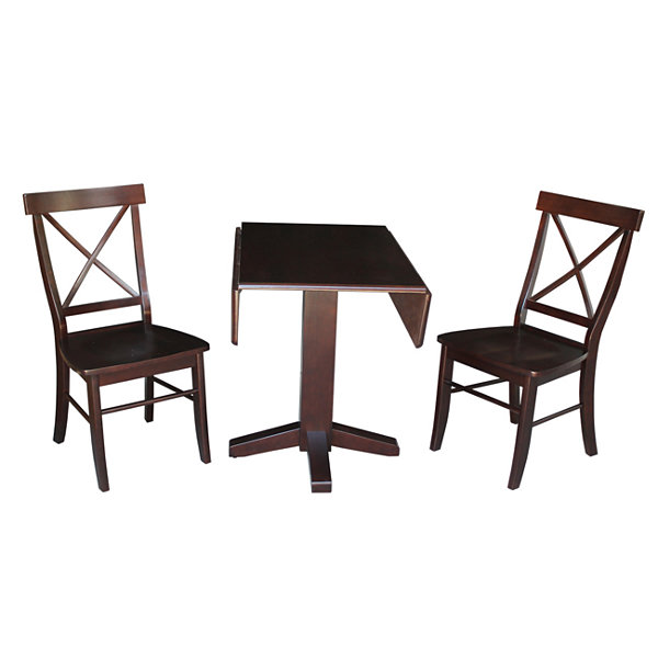 Jcpenney Dining Sets: Drop Leaf 3-pc. Counter Height Square Dining Set