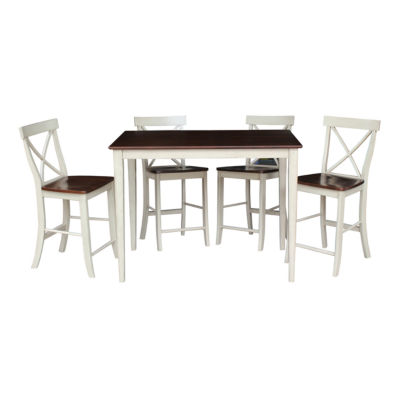 Gathering 5-pc. Counter Height Rectangular Dining Set