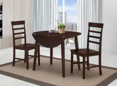4D Concepts Harrison Dining Ht Table With Two Chairs