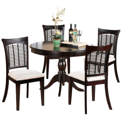 Everwood 5-pc. Round Dining Set