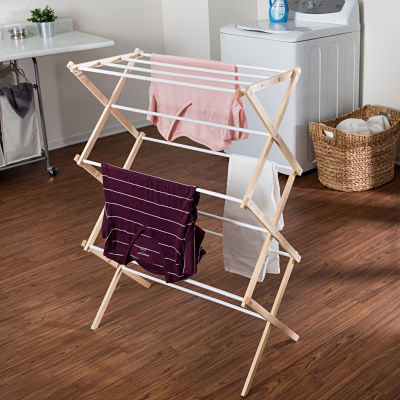 Honey-Can-Do® Wooden Laundry Drying Rack