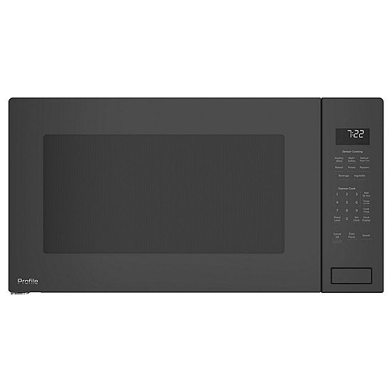 Ge Profile Series 2 Cu Ft Built In Sensor Microwave Oven