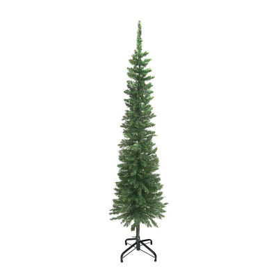 ALEKO Luscious Artificial Indoor Christmas Holiday Pine Tree