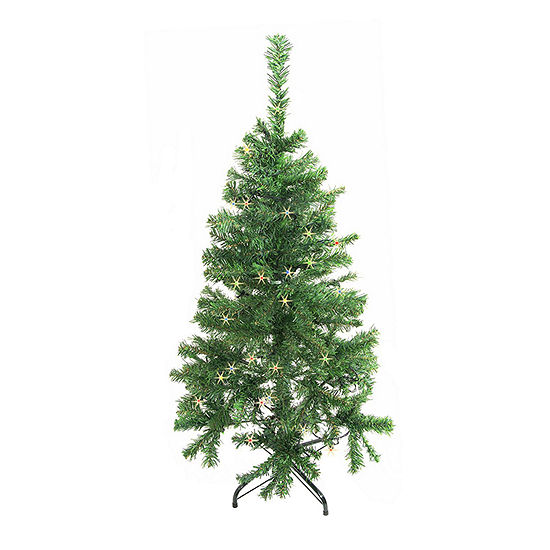 ALEKO Christmas Holiday Indoor Tree Indoor with Multicolored Lights