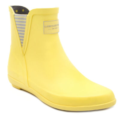 London Fog Piccadilly Womens Waterproof Rain Boots