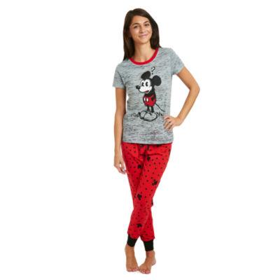 Disney's Mickey Mouse Burnout Pajama Top
