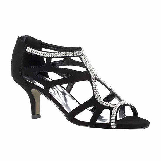 Easy Street Womens Flattery Pumps Spike Heel