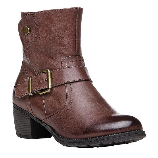 Propet Womens Tory Dress Boots Stacked Heel