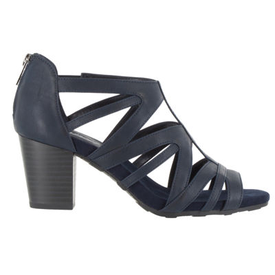 Easy Street Womens Amaze Heeled Sandals