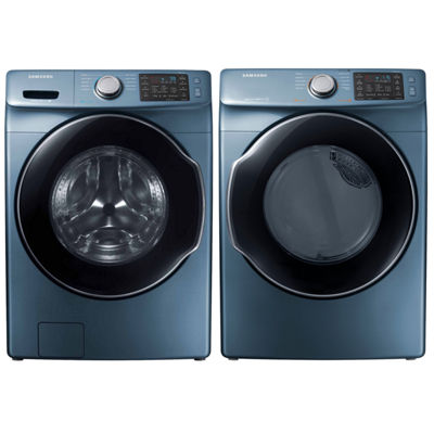 Samsung Front Load 2pc. Gas Washer & Dryer Set