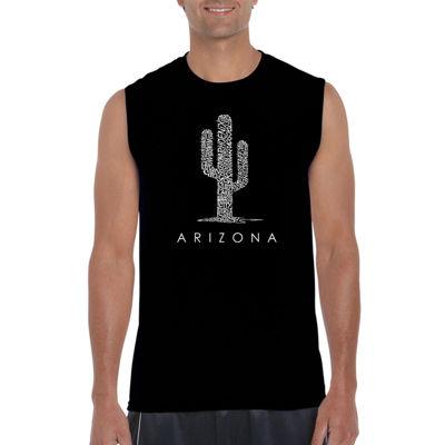 Los Angeles Pop Art Arizona Cities Tank Top