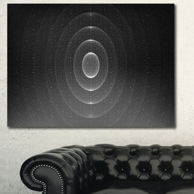 Designart Vector Interstellar Space Background Abstract Wall Art Canvas