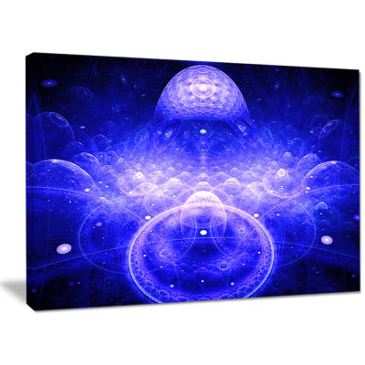 Designart Mystic 3D Surreal Illustration AbstractCanvas Wall Art