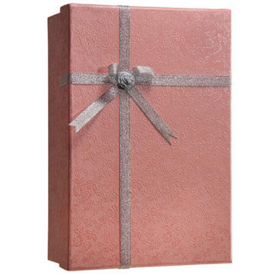 Barska Gift Box Lock Box Pink with Key Lock