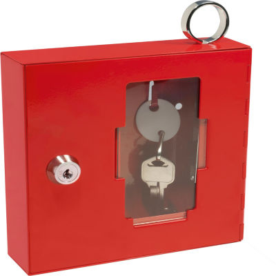 Barska Breakable Emergency Key Box; 6In. X 1.6In.X 6In. Ax11826