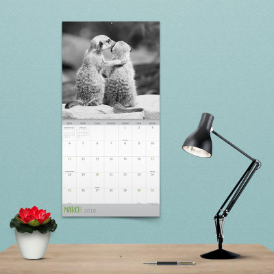 2018 Furry Friends Wall Calendar