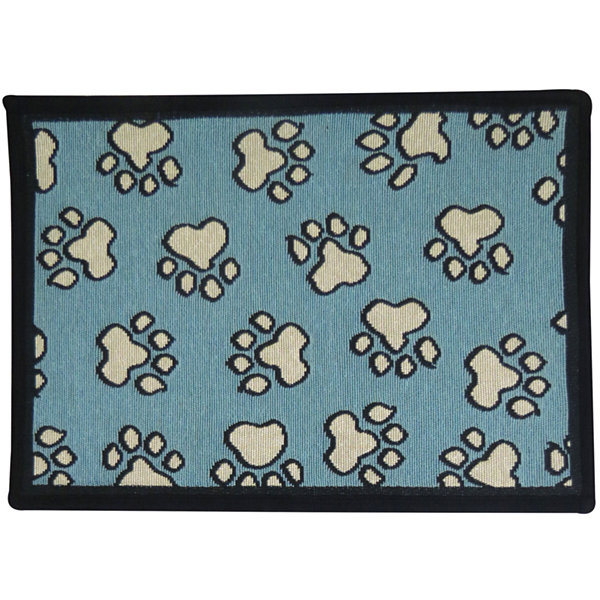 "P. B. Paws by Park B. Smith® 13"" x 19"" All Paws Pet Mat"