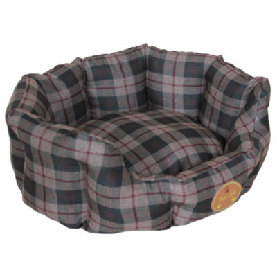 The Pet Life Wick-Away Nano-Silver and Anti-Bacterial Water Resistant Round Circular Dog Bed