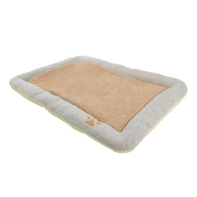 The Pet Life Nano-Silver Anti-Bacterial Neutral Carpentry Designer Dog Bed