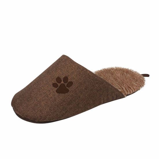 The Pet Life Slip-On Fashionable Slipper Pet Bed - Large