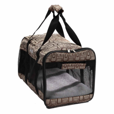 The Pet Life Airline Approved 'Flightmax' Collapsible Pet Carrier