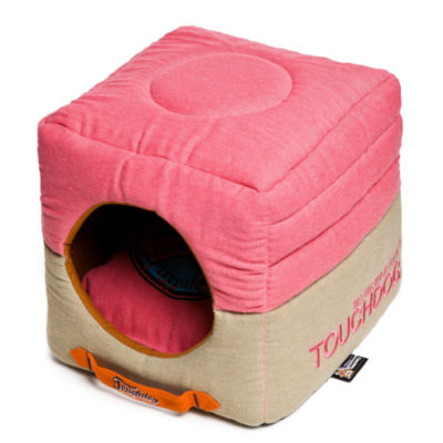 The Pet Life Touchdog Sporty Shock-Stitched Reversible Rectangular Thick Dog Mat