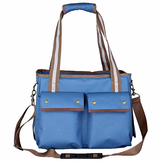 The Pet Life Fashion Canvas Pet Carrier