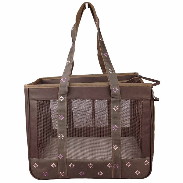 The Pet Life Surround View' Posh Fashion Pet Carrier