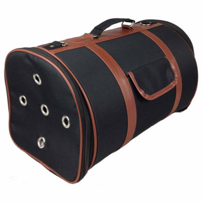 The Pet Life Airline Approved Fashion Cylinder Posh Pet Carrier