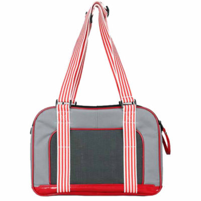 The Pet Life Candy Cane' Fashion Pet Carrier