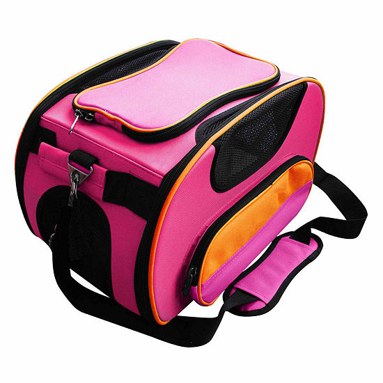 The Pet Life Airline Approved Sky-Max Modern Collapsible Pet Carrier