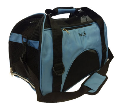 The Pet Life Airline Approved Altitude Force Sporty Zippered Fashion Pet Carrier