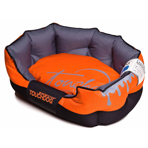 The Pet Life Touchdog Surface-Control Reversible Thick Cushioned Travel Sporty Dog Mat